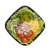 Ham Salad with avocado and cheese, Subway