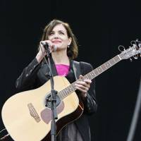 Elizabeth McGovern performs at Isle Of Wight Festival