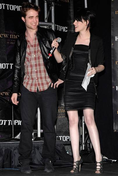 December 2009: After the premiere of New Moon
