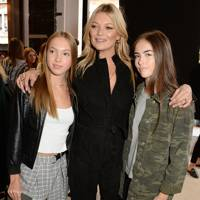 Lila Grace Moss, Kate Moss and Stella Jones