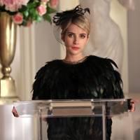 Chanel's funeral-wear