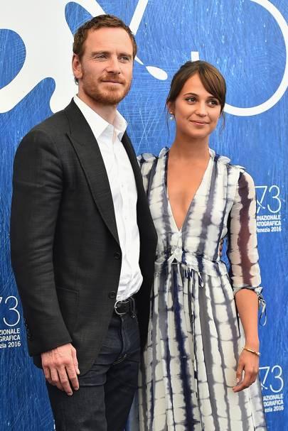 Alicia Vikander & Michael Fassbender