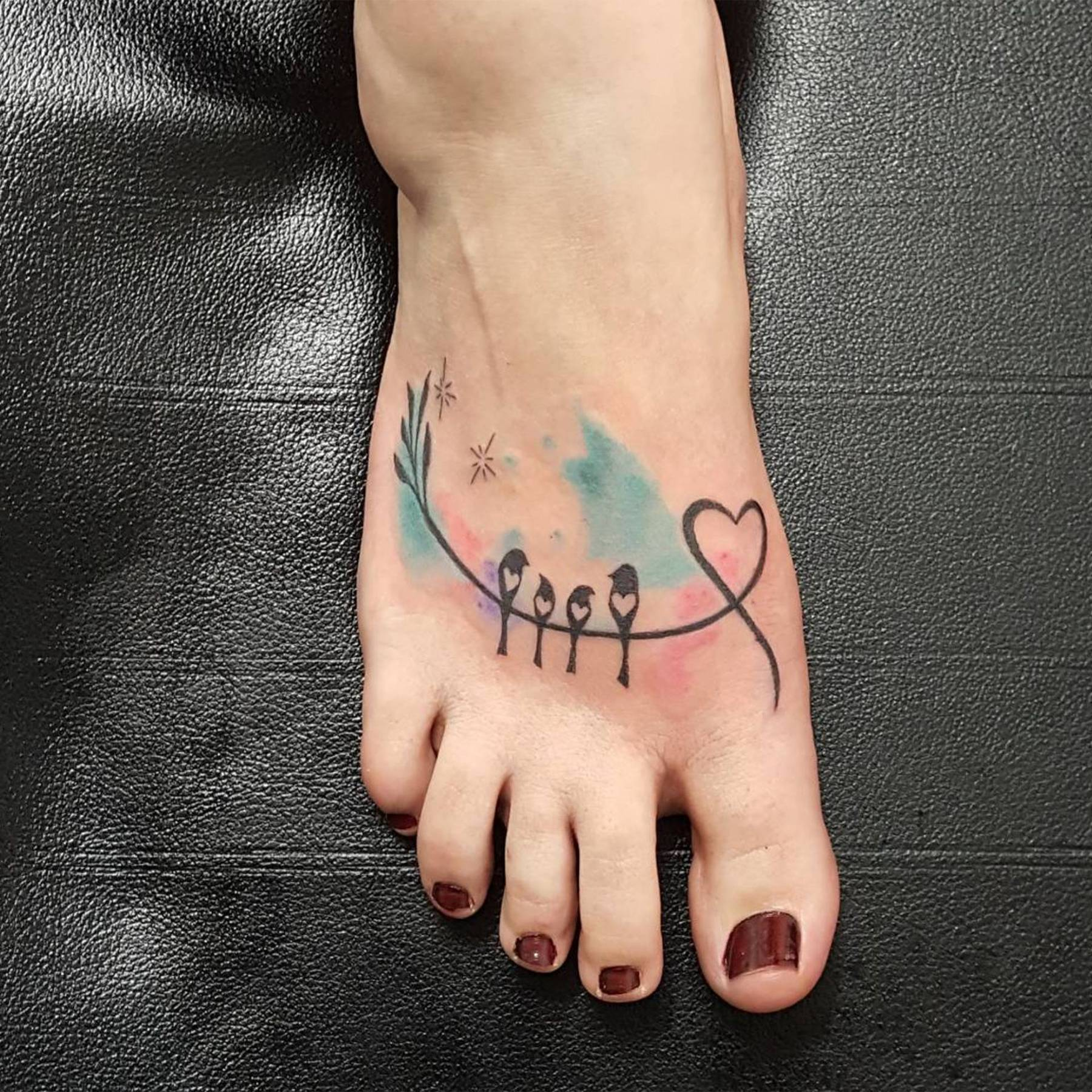 e7b6b1adf55a9 Colour tattoo design ideas - watercolour tattoos   Glamour UK