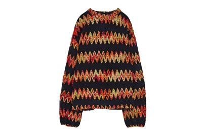 This jumper reminds us of tinsel and we simple NEED it.