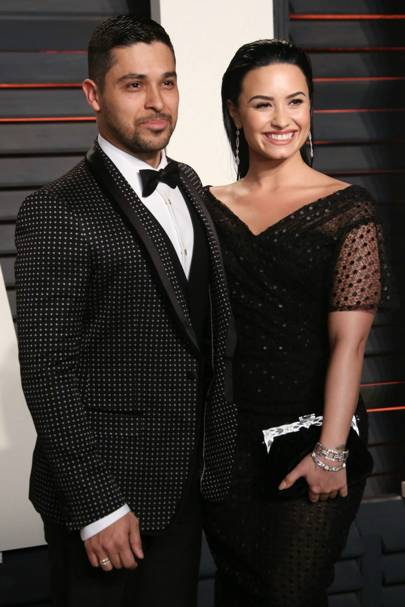 June: Demi Lovato and Wilmer Velderrama