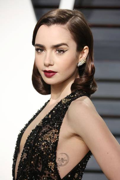Lily Collins On Her Relationship With Her Dad Phil Collins Glamour Uk