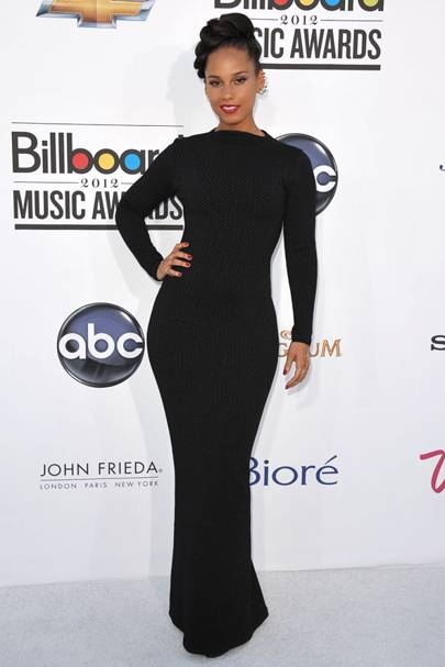 Alicia Keys at the Billboard Music Awards 2012