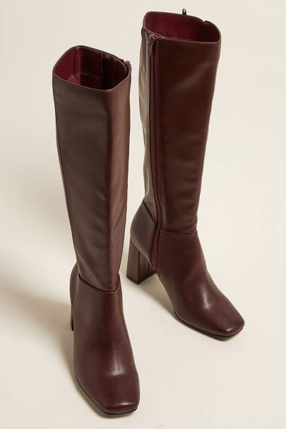 M&S Boot Sale: The Square Toe Knee High Boot