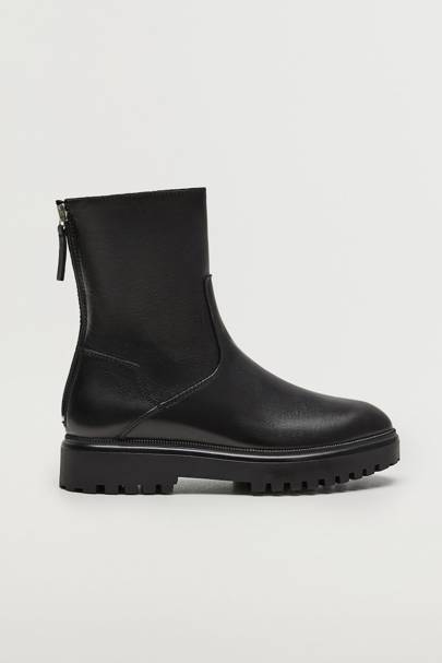 Mango Black Friday: The tread sole boot