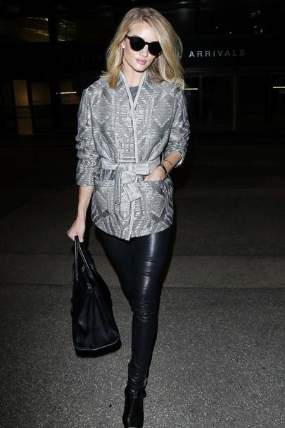 496f059823 Rosie Huntington-Whiteley s cool airport outfit is the perfect example.