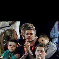 David, Cruise & Romeo Beckham