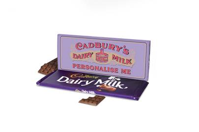 Cheap Christmas gifts: the personalised chocolate