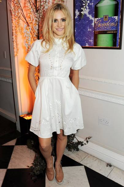 Pixie Lott at a Gordon's gin and Temperley London event in London