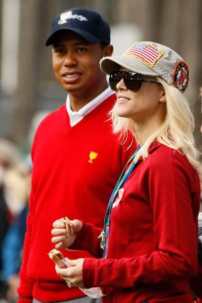 Tiger Woods & Elin Nordegren