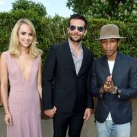 Suki Waterhouse, Bradley Cooper & Pharrell Williams