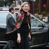 Off Duty: Kate Moss