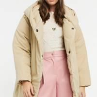 ASOS duvet coat