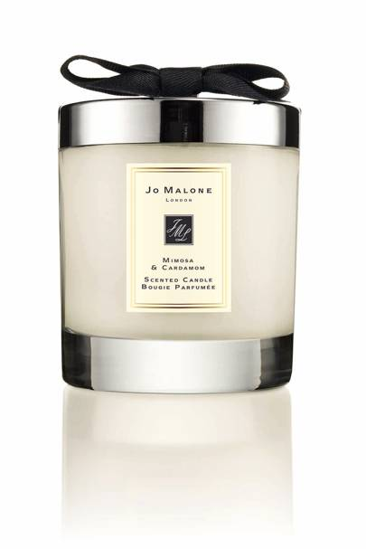 Mimosa and cardamom candle, £42 at Jo Malone