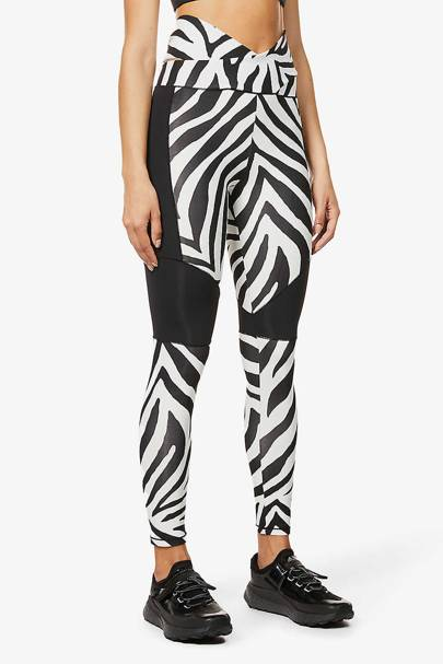 Zebra Print Trousers - Redemption Athletix