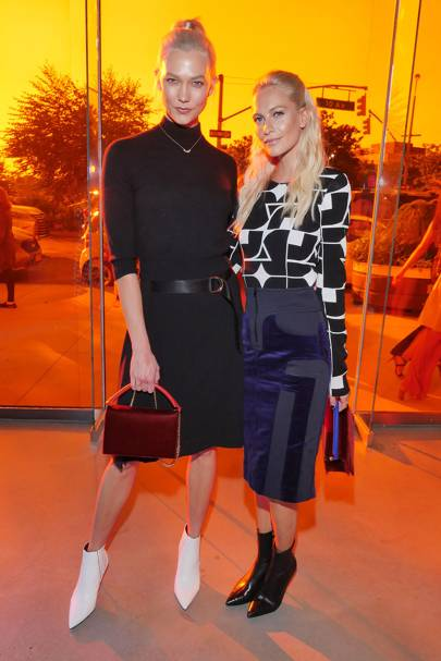 Karlie Kloss & Poppy Delevingne