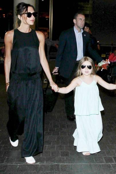 Harper & Victoria Beckham