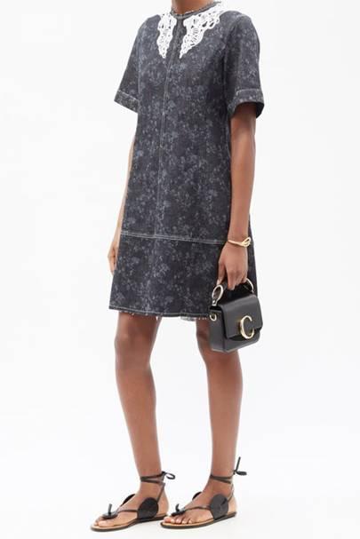 Best Denim Dresses - Cool Collar