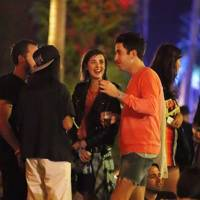 Nick Grimshaw and Agyness Deyn at Coachella