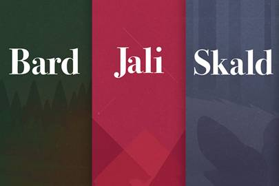 Bard, Jali and Skald