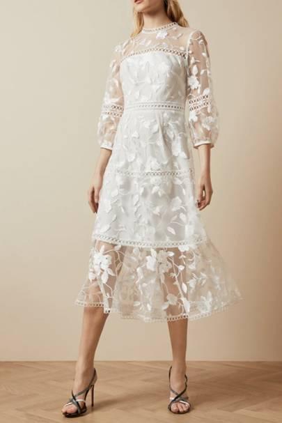 Long sleeve wedding dresses: Ted Baker