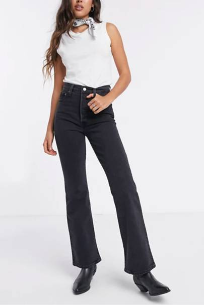 Best high-waisted jeans: Levi's