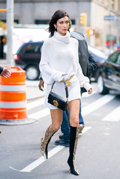 Bella Hadid Reveals How To Become A Model Glamour Uk