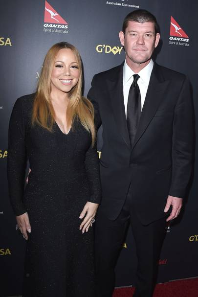 October: Mariah Carey and James Packer