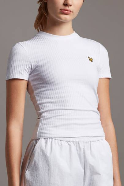 Best fitted white t-shirt