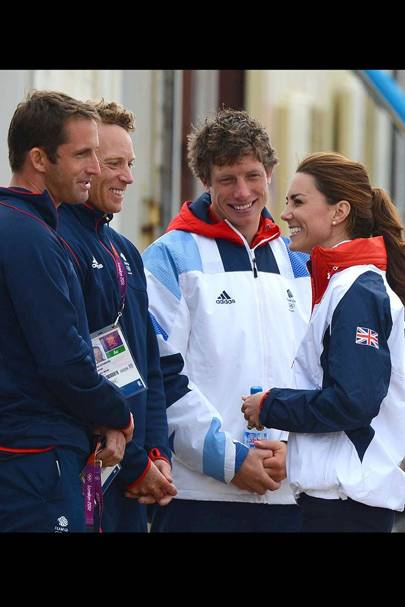 Kate Middleton & Team GB Sailors