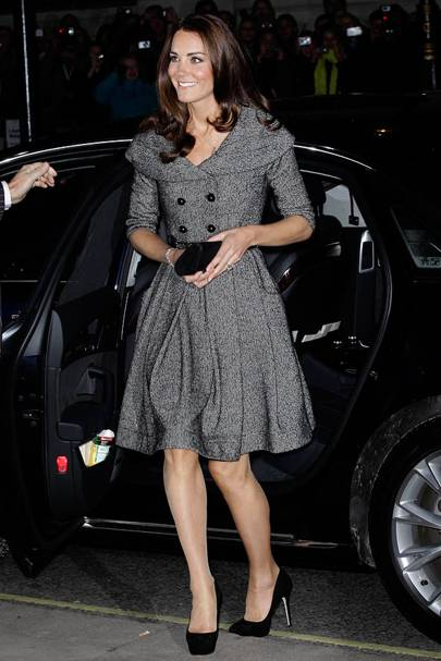 DO #2: Kate Middleton at the Lucian Freud Portraits opening, February
