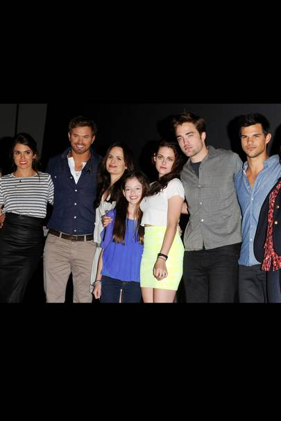 The Twilight Cast at Comic-Con 2012