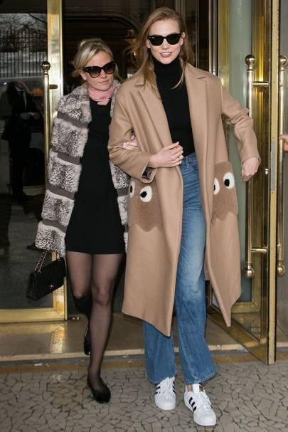 Karlie and Kimberly Kloss