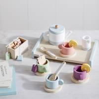 Best Kids Christmas Gifts: the wooden tea set