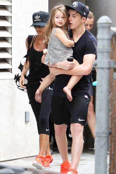 Victoria, Brooklyn & Harper Beckham