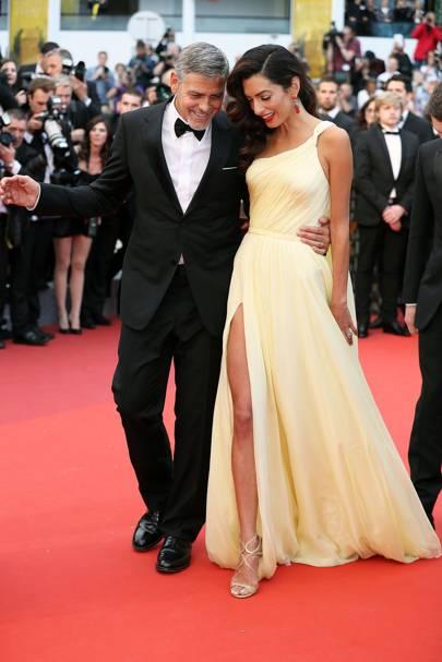 9. George Clooney & Amal Clooney