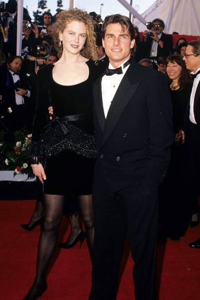 Nicole Kidman (with Tom Cruise) - 1991