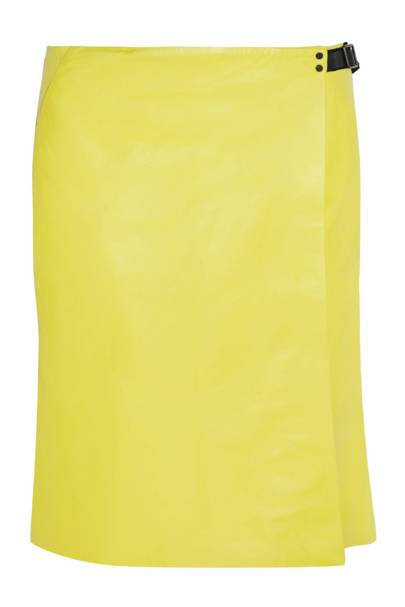 The item: A pencil skirt in a colourful shade