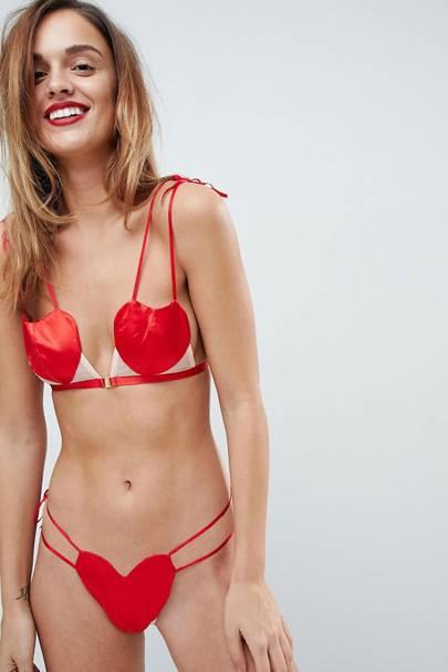 This particular piece from ASOS's Valentine's lingerie offering has everyone in hysterics