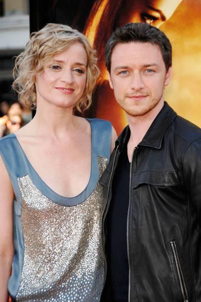 James McAvoy & Anne-Marie Duff