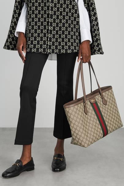Best designer tote bag: Logos are back