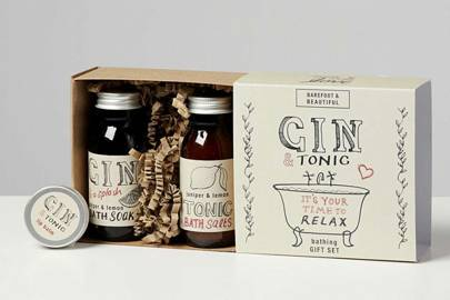 Gin gift sets: the gin-scented bath set