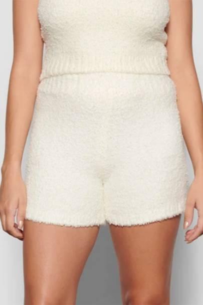 Fluffy shorts