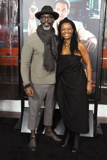 Isaiah Washington and Jenisa Washington