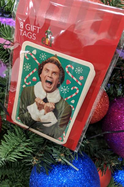 Elf Wrapping Paper Amp Gift Tags From Debenhams Glamour Uk