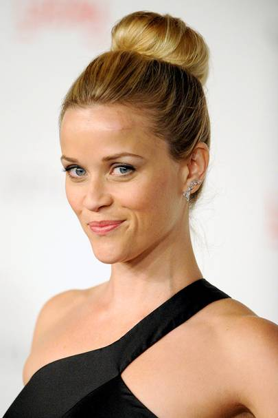 DO #6: Reese Witherspoon's tidy ballerina bun - November